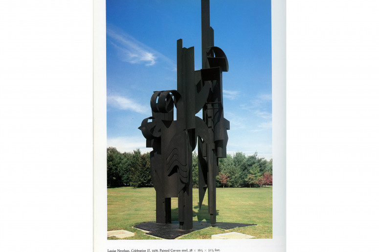 Book scan: Louise Nevelson
